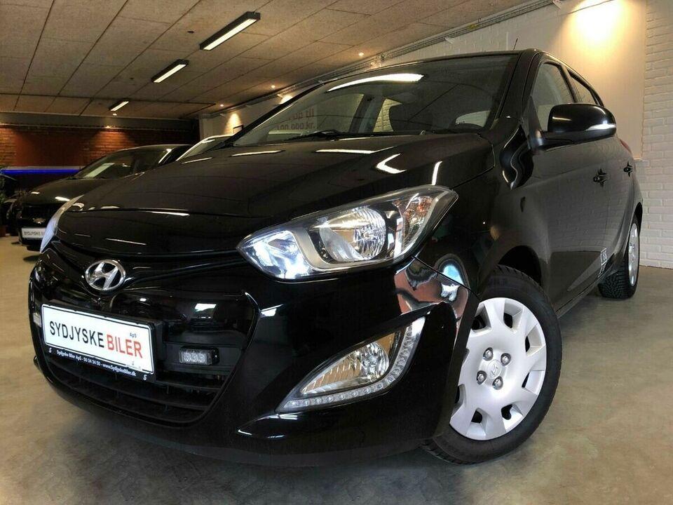 Hyundai i20 1,1 CRDi 75 Comfort Van Diesel modelår 2013 km