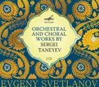 Orchestral and Choral Works by Sergei Taneyev (CD, Aug-2015, 2 Discs, Melodiya)