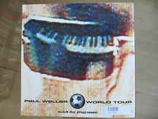 """Tour Programm Paul Weller """"World Tour-Match day programme"""" (1992)"""