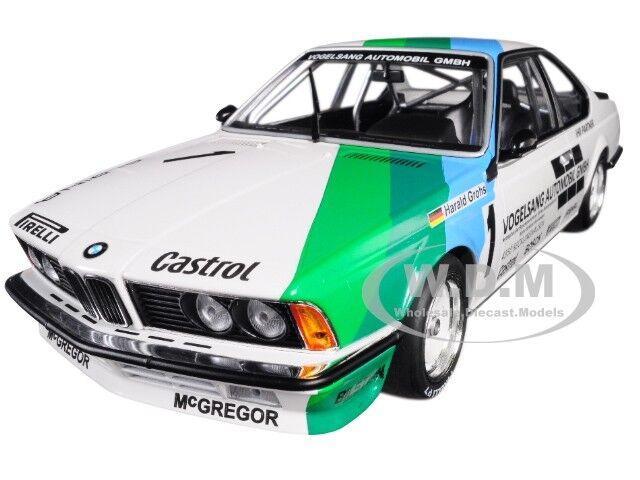 BMW 635 CSi  1 WINNER 1984 BERGISCHER LÖWE ZOLDER 1 18 BY MINICHAMPS 155842511