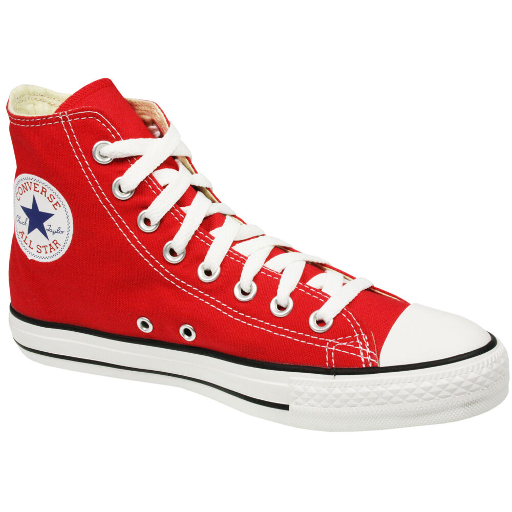 CONVERSE ALL STAR CHUCK TAYLOR HIGH STREET Homme Chaussures Rouge X9621 Taille 12 NEW
