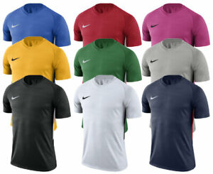 Nike-T-Shirt-Homme-Top-Tiempo-Jersey-Tee-Gym-Football-Formation-Sportive-S-M-L-XL