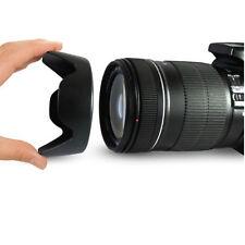 58mm Linse Zentrum Kamera Halterung Gegenlichtblende aus Plastik für Canon Nikon