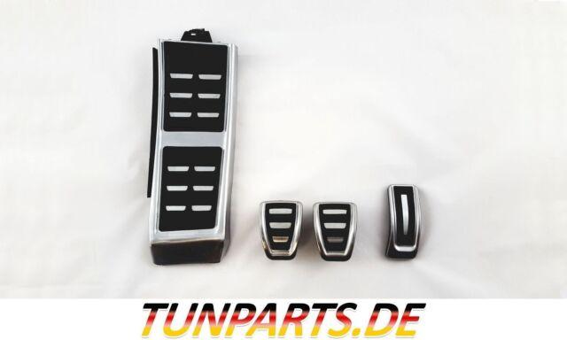 Original Audi A4 A5 Q5 Alu Pedalset Edelstahl Pedalkappen für Automatik