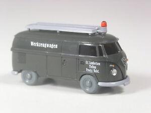 Wiking-C-amp-I-Sondermodell-VW-T1-Kasten-Lambertsen-Tiefbau-Werkzeugwagen