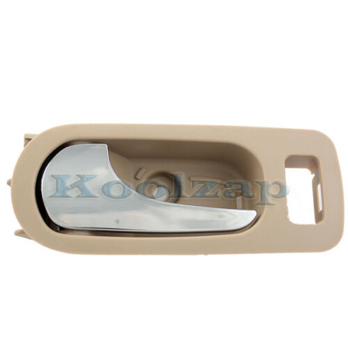05-09 Lacrosse Allure Inside Inner Rear Beige Door Handle Left Driver Side
