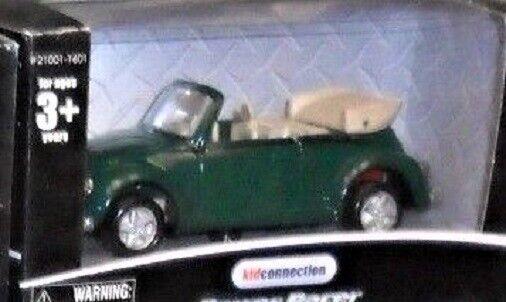 Maisto 1 48 Volkswagen Car Retro Congreenible Bug Green 027-O Scale Die-cast MIB