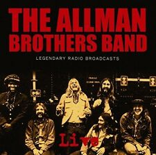 Legendary Radio Broadcasts * by The Allman Brothers Band (CD, Nov-2017, Import)