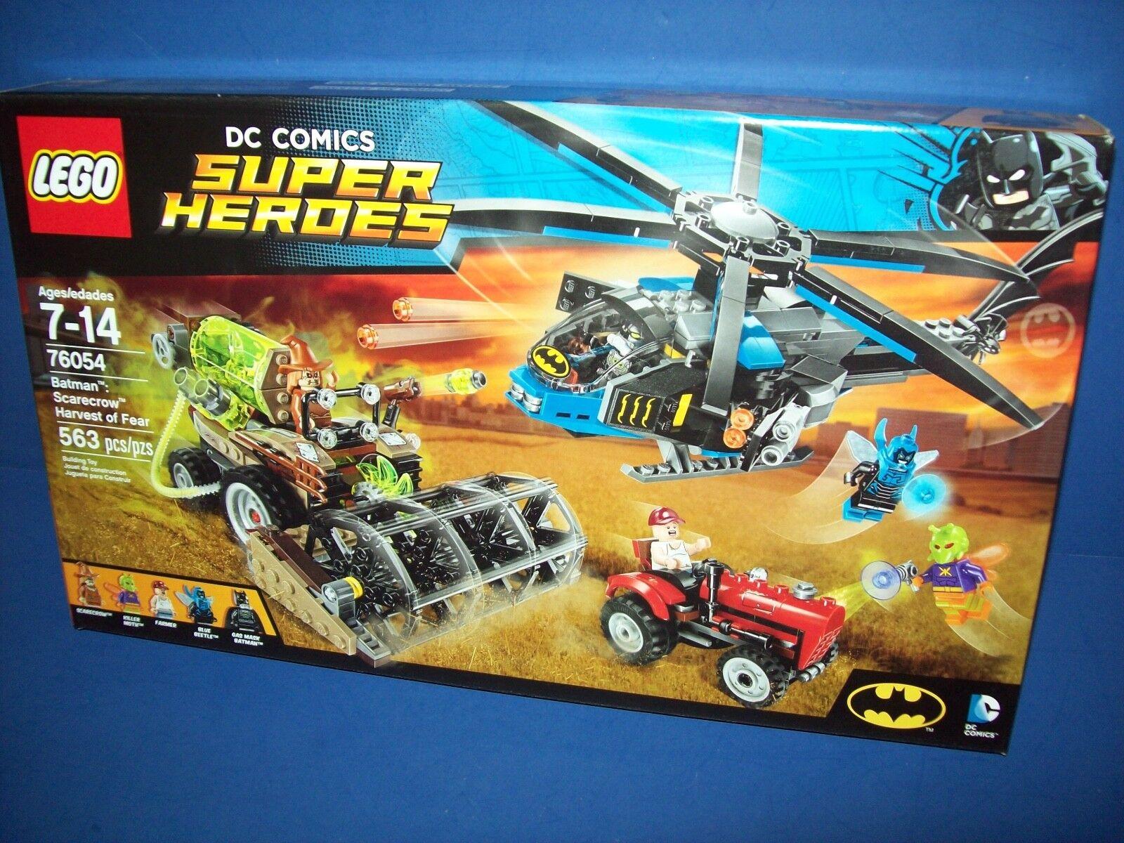 Lego 76054 DC Comics Super Heroes Batman Scarecrow cosecha de miedo Nuevo Sellado