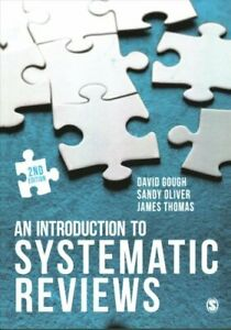 An-Introduction-to-Systematic-Reviews-by-David-Gough-9781473929432-Brand-New