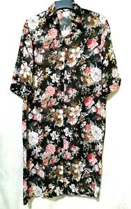 Korean-brand-Floral-Shirt-Dress