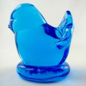 Sujet Verre Design Oiseau Bleu Leo Ward Blue Bird Glass Figurine/chick/daum... 0djikv3z-07224633-210425598