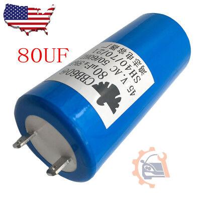 CBB60 Motor Run Capacitor 250VAC 250V AC 80uF 80MFD 4pin UL listed W//FIXING STUD