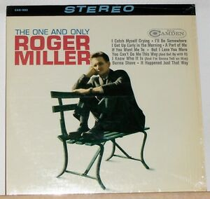 Roger-Miller-The-One-And-Only-1965-LP-Record-Album-in-Shrink