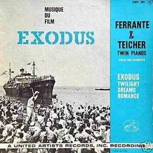 EXODUS-B-O-Film-Ferrante-amp-Teicher-FR-Press-45-Tours