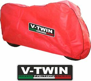 Ducati-RED-Breathable-indoor-Motorcycle-cover-fits-Panigale-1098-1198-1199-1299