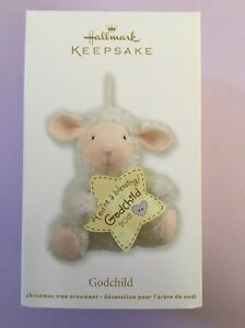 Hallmark Keepsake 2012 Godchild Lamb Christmas Ornament ...