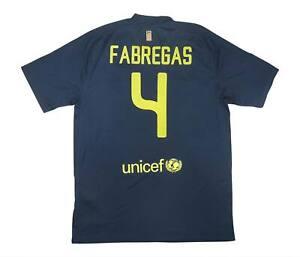 Barcelona 2011-12 Autentico AWAY SHIRT FABREGAS #4 (eccellente) L soccer jersey