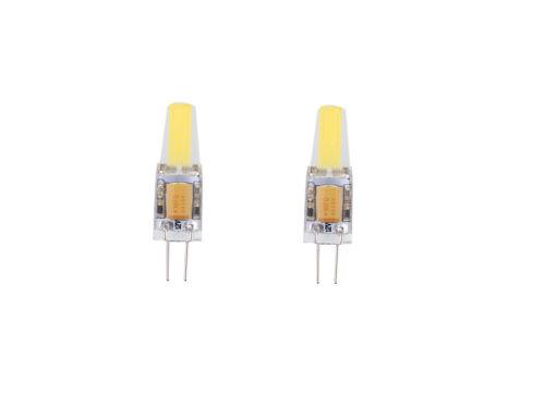 G4 Bi-Pin Dimmable White COB 1505 LED Home Spotlight Replace Halogen Bulb AC220V