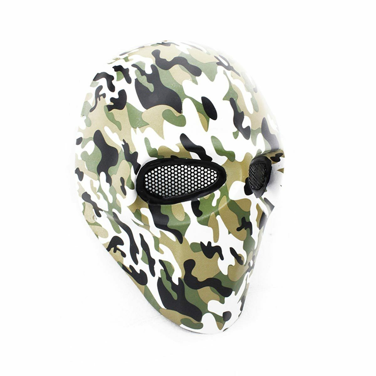NEW Airsoft CS Full Face Wire Mesh Mesh Wire Protection Skull Mask PROP Camouflage M461 180f82