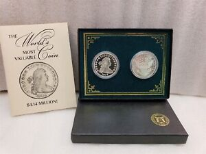 1804 Bust Silver Dollar Set Proof /& MS Collectors Gallery Mint Museum Ron Landis