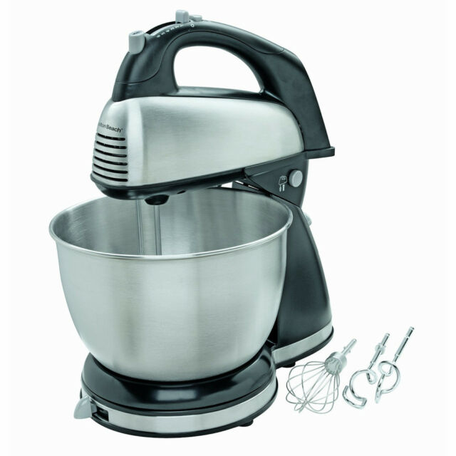 Hamilton Beach 64650 6-Speed Classic Stainless Steel Stand Hand Mixer