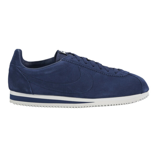 beffa7265a33 Mens Nike Classic Cortez SE Suede Midnight Navy Trainers UK 10 BN 902801  400 for sale online | eBay