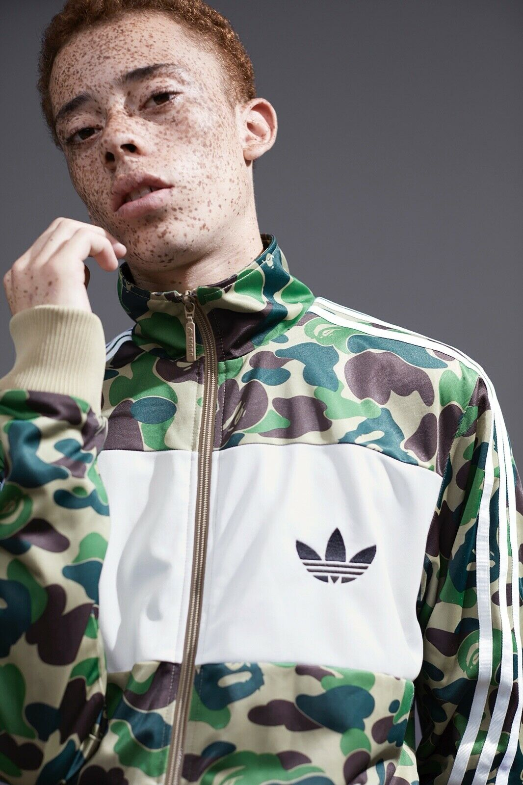 Tracksuits & Sets Xl. Adidas Originals Firebird Bliss Camo Track Top Size Activewear