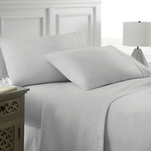 Image Is Loading Premium Hotel Quality 4 Piece Deep Pocket Bed