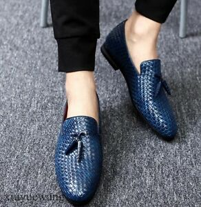 Men-Leather-Tassel-Slip-on-Loafers-Casual-Business-Shoes-Oxford-Plus-Size-5-11-5
