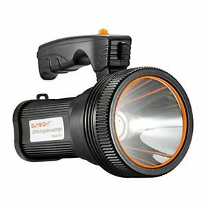 BUYSIGHT Bright Rechargeable Searchlight handheld LED Flashlight Tactical Fla...