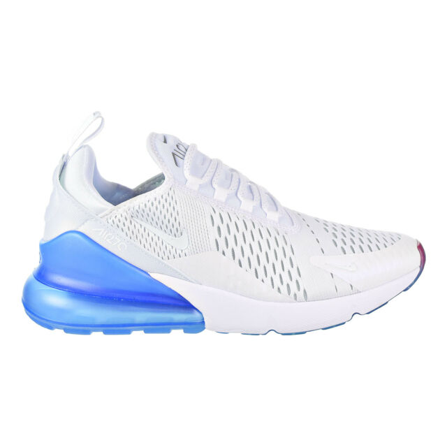 competitive price 1e77b e64f3 Nike Air Max 270 Men s Shoes White Metallic Silver AQ7982-100