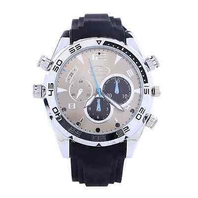 Spy Wrist DV Watch 16GB Video IR Night Vision 1080P Hidden Camera Waterproof