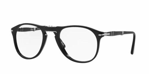 PERSOL PO9714VM 95 Black Pilot Folding 52 mm Men/'s Eyeglasses