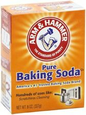 8x Arm and Hammer Pure Baking Soda Sodium Bicarbonate 227 g Free Fast Postage
