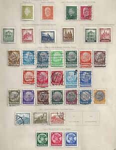 Reich collection of 45 stamps HIGH VALUE!