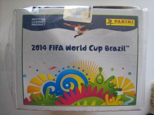 Panini Brazil 2014 Stickers 100 Packs BOX FIFA World Cup Brasil All 32 Teams