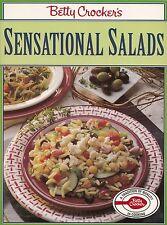 BETTY CROCKER'S SENSATIONAL SALADS COOKBOOK FRUIT, POULTRY, MEAT, MEATLESS, MORE