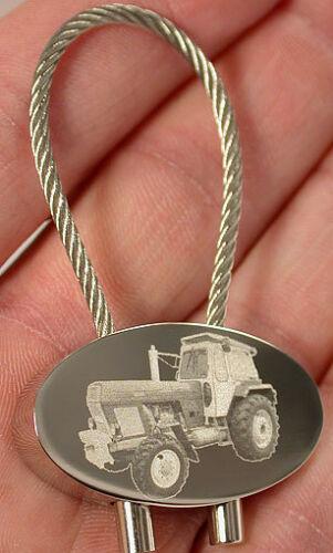 Fortschritt ZT 303 Schlüsselanhänger Trecker Keyring Gravur Traktor Fotogravur