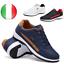 miniatura 1 - Sneakers Basse Da Uomo Casual Impermeabili Con Lacci Per Correre E Camminare