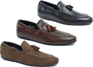 Mens-tassel-Slip-On-Casual-Formal-Moccasins-driving-loafer-Shoes-UK-Size-6-11