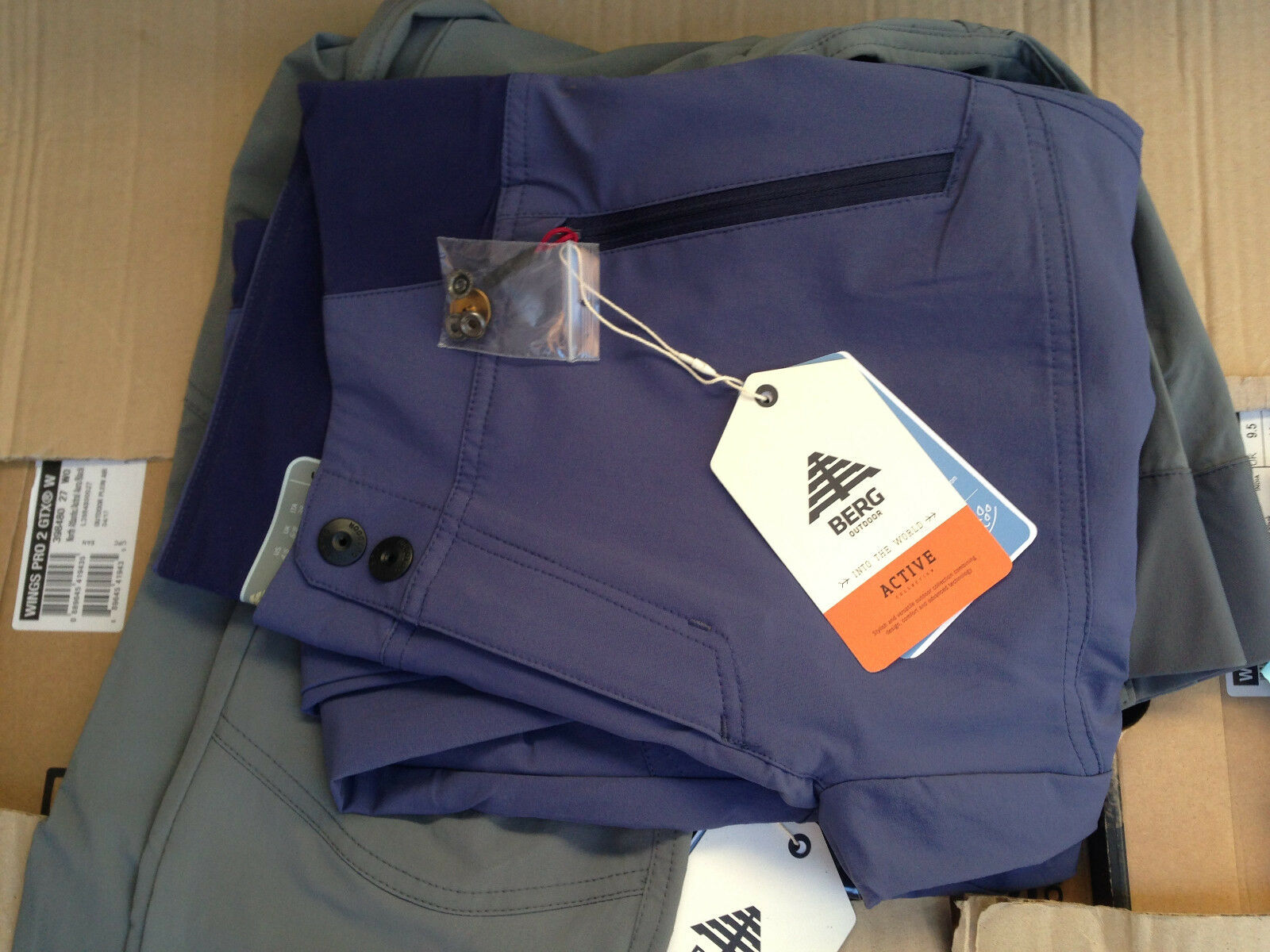 Pants from Mountain Trekking and Leisure with Zipper Mens & Women's 4 Stagioni