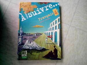 Details Sur Livre Scolaire Francais A Suivre Livre Unique 4 Eme Belin 2007