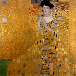 Portrait-Of-Adele-Bloch-Bauer-I-by-Gustav-Klimt-Oil-Painting-Art-Reproduction