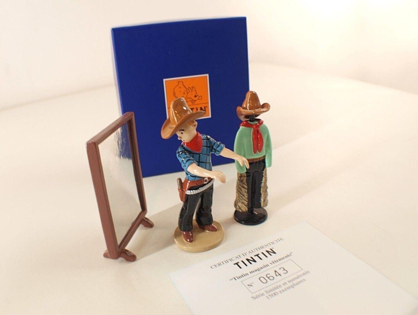 Pixi Nr. 46200 Tim und Struppi Kleidung Shop America Schachtel Blau Moulinsart