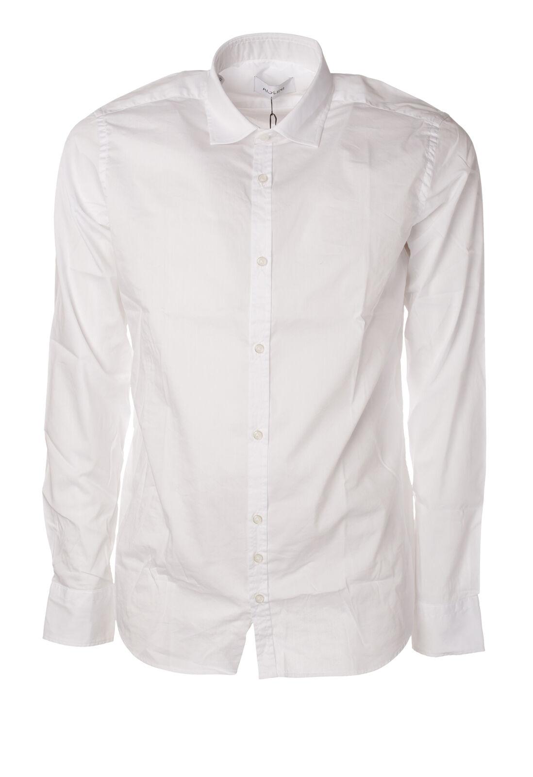 Aglini - Shirts-Shirt - Man - White - 5914809C191020