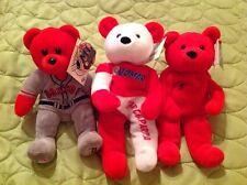 BOSTON RED SOX BEANIE BEARS VINTAGE NOMAR GARCIAPARRA LOT OPENING DAY MLB