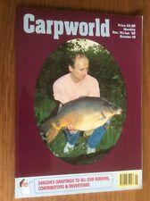 Carpworld Number 19 Magazine Carp Early Back issues