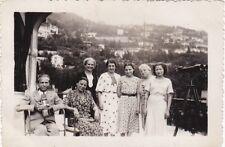 LOTTO DI N° 3 FOTOGRAFIE TURISTI A CERNOBBIO 1937  32-13