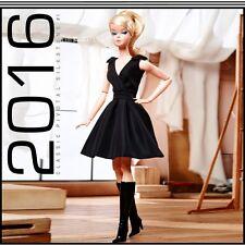 OFFICIAL BOX  # 500..Pivotal Classic Black Dress Silkstone Barbie For Collectors